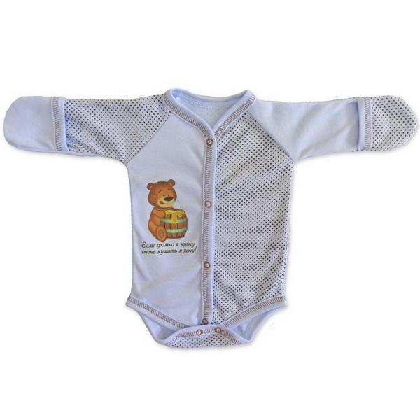 Боди  BabyGlory Надписи (горошек) НГ-001