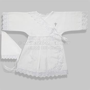 Крестильный набор    Платье, косынка