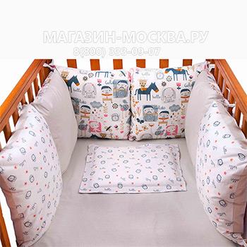 Бампер в кроватку 1 650 руб      , магазин москва, магазин-москва.ру, магазин москва ру, magazin-moskva.ru