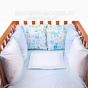 Бампер в кроватку 1 705 руб      , магазин москва, магазин-москва.ру, магазин москва ру, magazin-moskva.ru